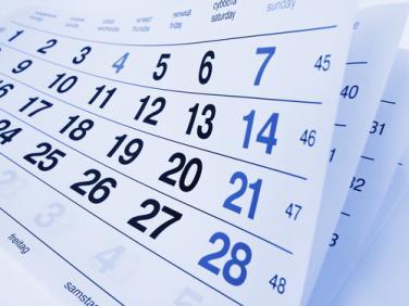 Основни срокове в данъчния и осигурителния календар